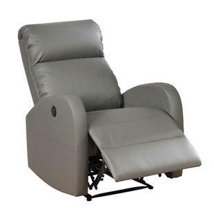 Atilia Modern Leather Power Recliner
