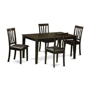 Wooden Importers Capri 5 Piece Dining Set
