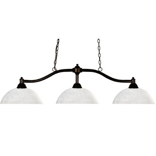 Fleur De Lis Living Beecroft 3-Light Pool Table Lights Pendant