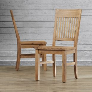 Dulce Solid Wood Dining Chair (Set of 2) Mistana