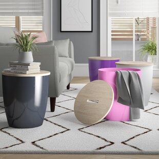 Bremer Storage Ottoman (Set of 4)