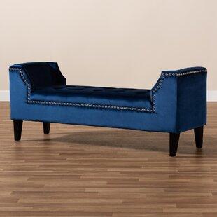 George Oliver Harpersville Upholstered Bench