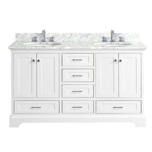Harper 60 Double Bathroom Vanity Set by Kitchen Bath Collection