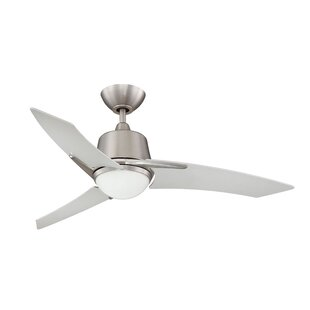 Compare prices 44 Kyree 3-Blade Ceiling Fan with Wall Remote By Ebern Designs
