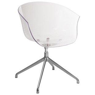 Orren Ellis Saffron Swivel Arm Chair (Set of 2)