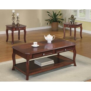 Canora Grey Armbruster 3 Piece Coffee Table Set