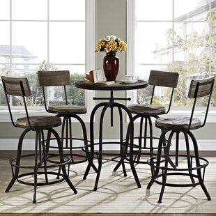 Gather 5 Piece Dining Set Modway