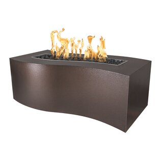 The Outdoor Plus Billow Steel Fire Pit Ta..