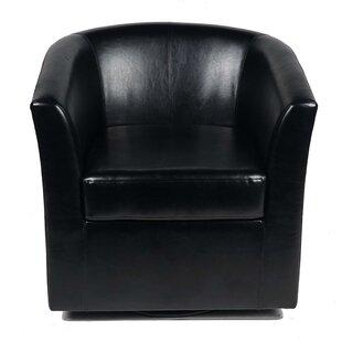 Wilmore Swivel Barrel Chair by Wade Logan
