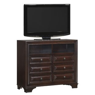 Edwardsville 6 Drawer Combo Dresser