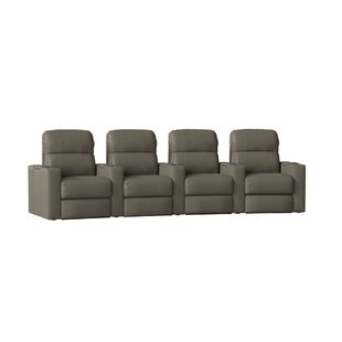 Red Barrel Studio Home Theater Recliner (Row of 4)