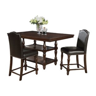 Langley 3 Piece Dining Set by Charlton Home