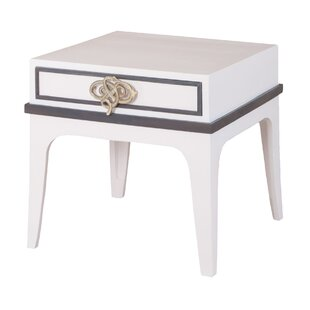 Iroh End Table by Bungalow Rose