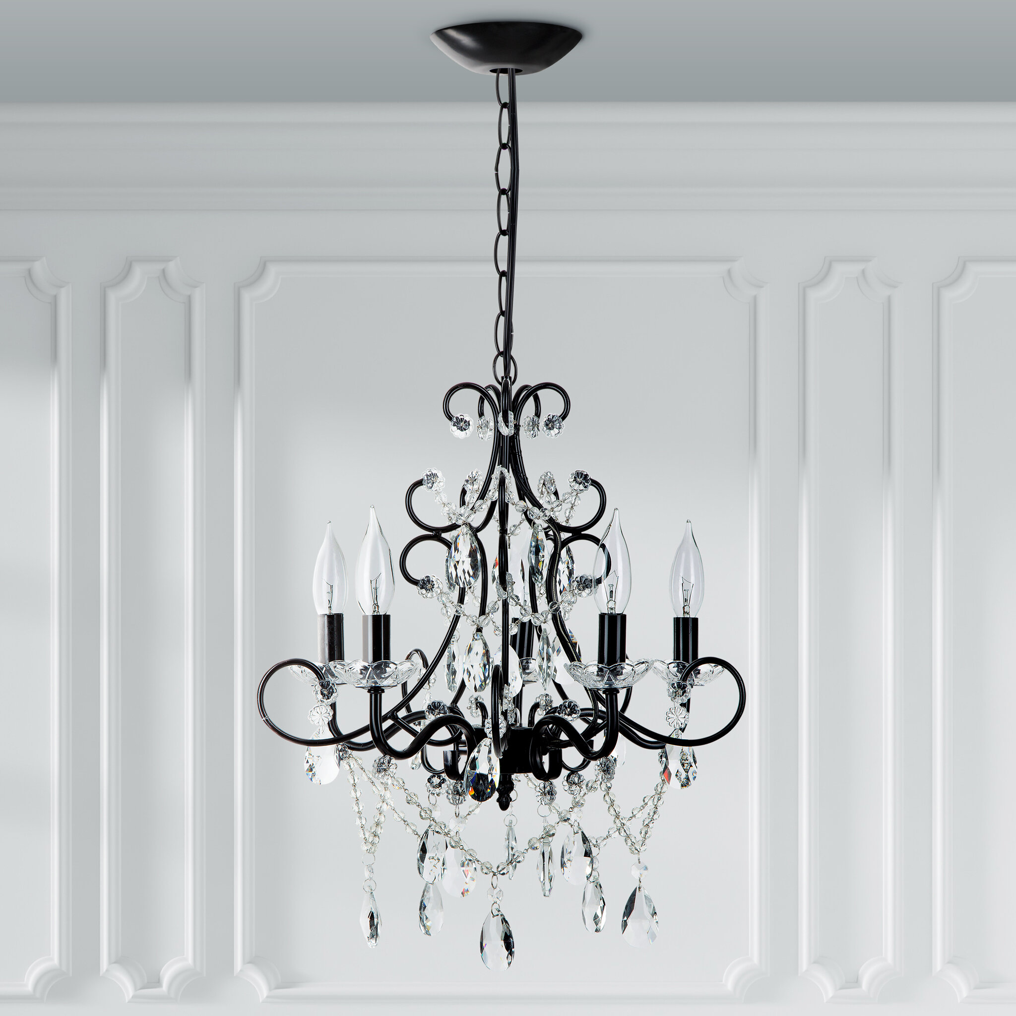 Astoria Grand Blanchette 5 Light Candle Style Classic Traditional Chandelier Reviews Wayfair