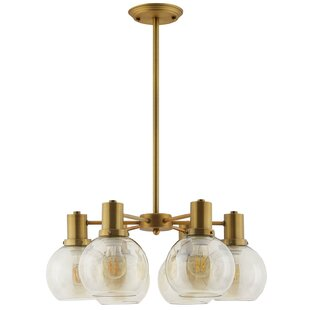 Fenn 6-Light Shaded Chandelier by George Oliver