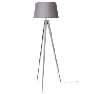 Gray floor lamps youll love wayfair save to idea board black grey aloadofball Images