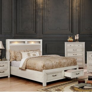 Cuvier Upholstered Storage Platform Bed