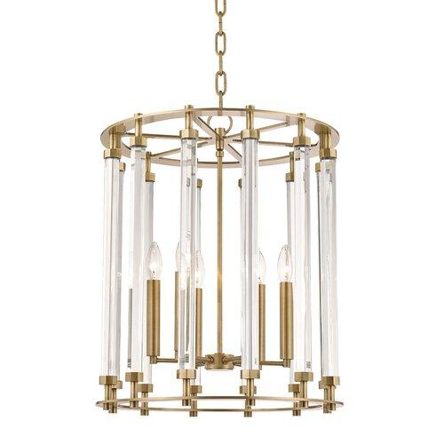 Mercer41 Herrick 8 Light Candle Style Rectangle Square Chandelier Wayfair