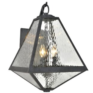 Inexpensive Hankerson 3-Light Outdoor Wall Lantern By Brayden Studio