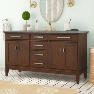 Find a Northfield 60 Double Bathroom Vanity Base Only By Andover Mills