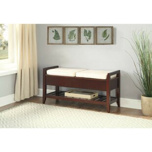 Colbert Upholstered Storage Bench by Alcott Hill
