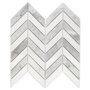 Dart 1 x 3 Marble Mosaic Tile