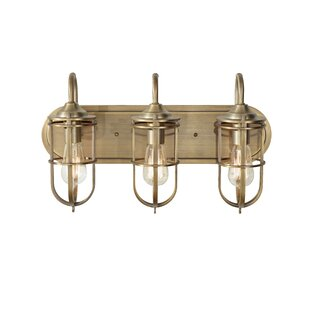 Reviews Abordale 3-Light Vanity Light By Williston Forge