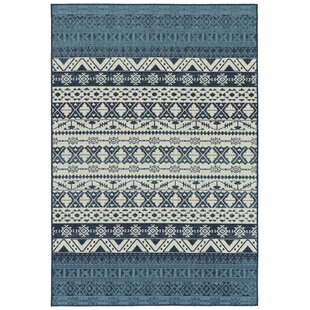 Dooling Navy Indoor/Outdoor Area Rug