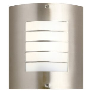 Warner 1-Light Outdoor Flush Mount By Longshore Tides Outdoor Lighting