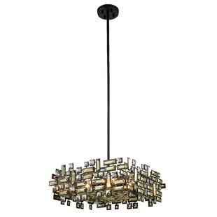 Best Reviews Nancee 6-Light Chandelier By Everly Quinn