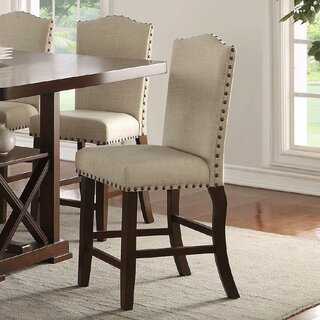 Amelie II Upholstered Dining Chair (Set of 2) by Infini Furnishings SKU:CC338423 Price Compare