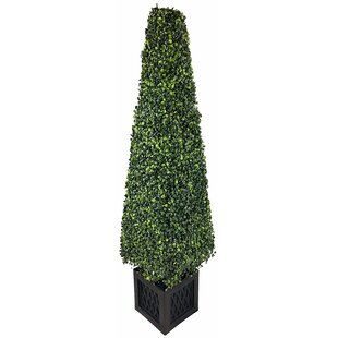 Artificial Boxwood Tower Plant By The Seasonal Aisle