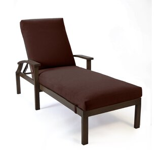 Bungalow Reclining Chaise Lounge with Cushion