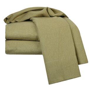 Clara Clark 100% Egyptian-Quality Cotton Flannel Sheet Set