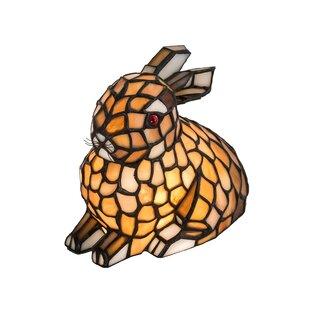 Breaux Rabbit Honey 7 Table Lamp