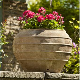 Bloomsbury Market Tavira Terracotta Pot Planter Reviews Wayfair