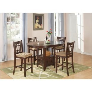 Renshaw 5 Piece Counter Height Dining Set Winston Porter