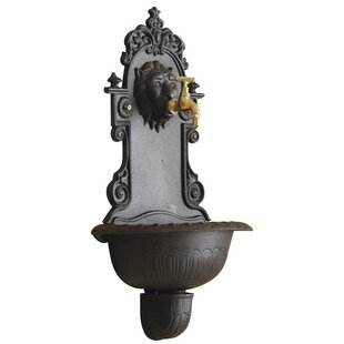 Cothran Cast Iron Wall Fountain By Astoria Grand