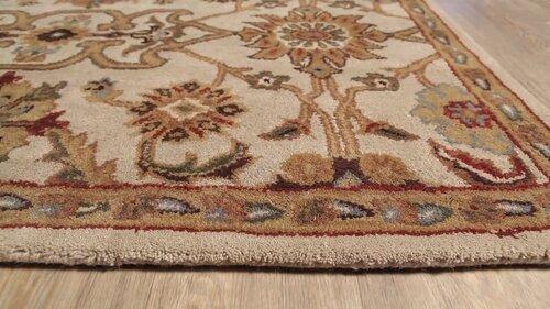 Birch Lane Heritage Philson Oriental Handmade Tufted Wool Beige Camel Area Rug Reviews Wayfair