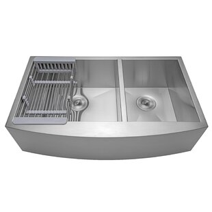 Double Basin Kitchen Sinks You\'ll Love | Wayfair