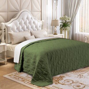 Breanna Microfiber Embroidered Quilt