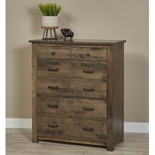 Lipford Bench Built 5 Drawer Chest