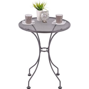St. Marks Steel Bistro Table By Sol 72 Outdoor