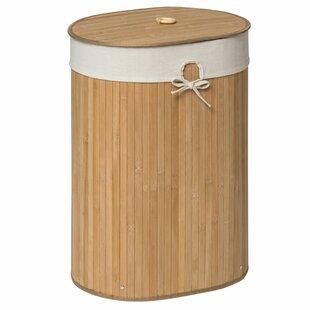 Kayo Oval Wicker Laundry Bin by Castleton Home
