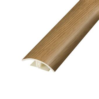 Artistic Finishes Oak Wood 0 27 Thick X 1 5 Wide X 78 Length Flush Reducer In Brown Reviews Wayfair