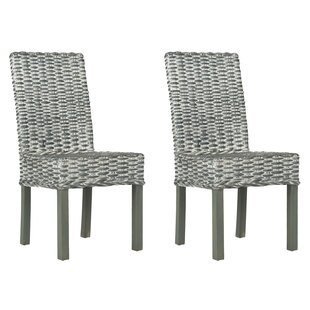 Find Fang Side Chair (Set of 2) by Highland Dunes Reviews (2019) & Buyer's Guide