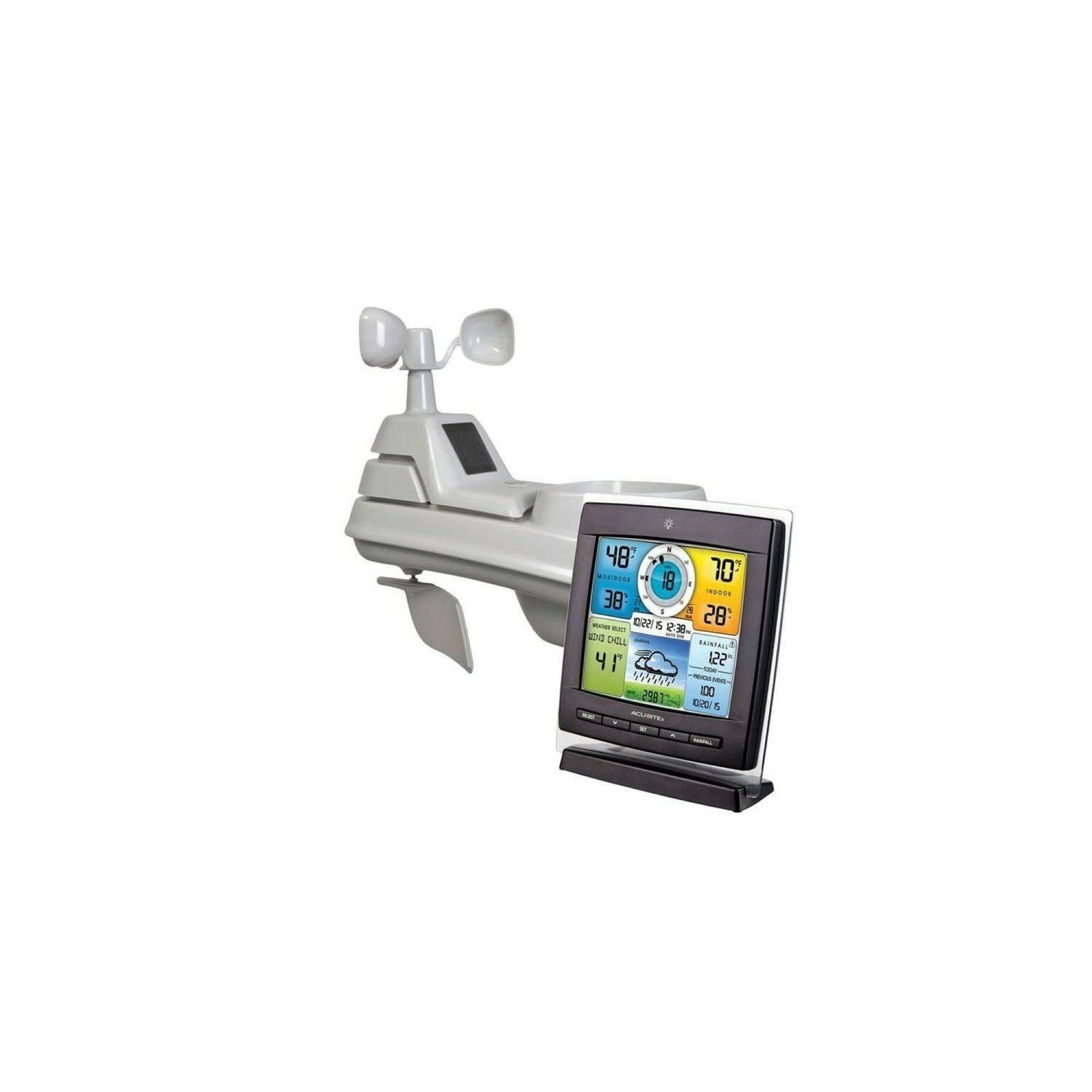 Professional Wireless Weather Station W// Wind Temperature /& Humidity