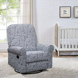 Basil Manual Swivel Glider Recliner & Patterned Recliners Youu0027ll Love | Wayfair islam-shia.org