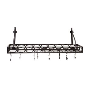 wall mounted bookshelf pot rack - Wall Mounted Bookcase