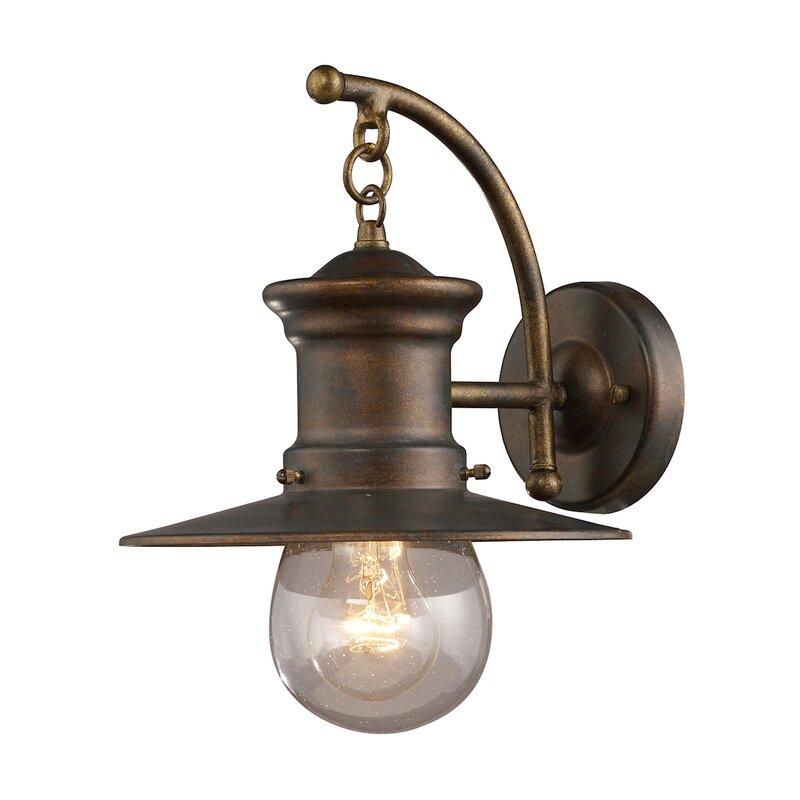 Outdoor Barn Light Acklins 1 light outdoor barn light reviews joss main acklins 1 light outdoor barn light workwithnaturefo